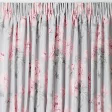 Ebay Curtains Laura Ashley by Beatrice Cyclamen Floral Pencil Pleat Ready Made Curtains At Laura