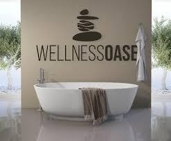 wandtattoo wellness oase wandaufkleber badezimmer spruch steine a38