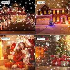 Christmas Lights Projector Outdoor ALOVECO Snowfall Lights Projector IP65 Waterproof With RF Remote For Chritsmas Xmas Holiday