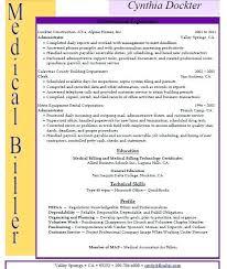 Medical Billing Job Description For Resume Samples Free