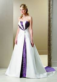 Wedding Dresses With Purple Accents Gallery Best 25
