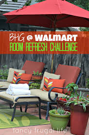 Walmart Outdoor Furniture Replacement Cushions by Bhg Walmart Room Refresh Challenge Patio Mini Makeover
