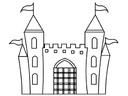 Disney Castle Coloring Page Kids 12 Download