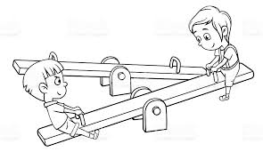 Playground Clipart See Saw
