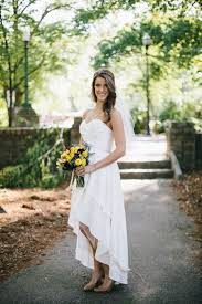 Cheap Bridal Gown Buy Quality High Low Wedding Dresses Directly From China Short Front Suppliers Simple Rustic Chiffon Pleated