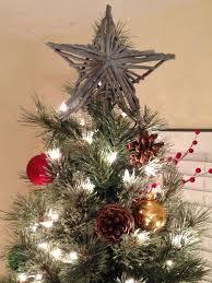 DIY Rustic Star Tree Topper