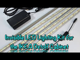 custom invisible led light kit mkiii installation guide ikea