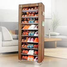 Baxton Shoe Storage Cabinet by Baxton Studio Calvin Wood Shoe Storage Cabinet In Dark Brown With