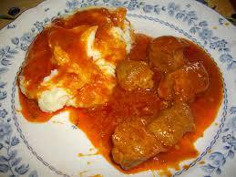 cuisiner un sauté de porc sauté de porc à la tomate les recettes faciles de titine