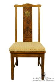 BERNHARDT FURNITURE Asian Chinoiserie Style Burled Wood Dining Side Chair  255-501 Jet Set Ding Room Items Bernhardt Santa Bbara Includes Table And 4 Side Chairs By At Morris Home 78 Off Embassy Row Cherry Carved Wood Haven Chair Each 80 Gray Deco All Montebella 9 Piece Baers Design Couch Sale Interiors Keeley Of 2