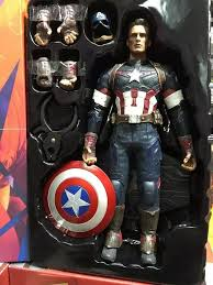 Avengers Age Of Ultron Captain America Movable PVC Action Figure