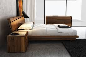 Swan Modern Platform Bed King Size 4000K