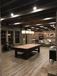 Exposed Basement Ceiling Lighting Ideas by Basement Semi Finish With Lighting City House Pinterest