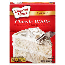 Duncan Hines Classic White Cake Mix 16 5oz