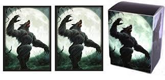 Mtg Werewolf Deck Ideas by Amazon Com Full Moon 1 Deck Box 100 Shuffle Tech Gloss Finish