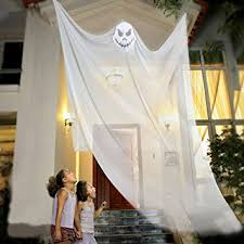 amazon com 7ft halloween props scary halloween ghost decorations
