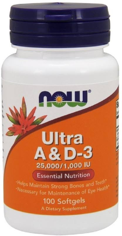 Now Foods Ultra A & D-3 - 100 Softgels
