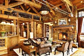 Rustic Living Room Wall Ideas by Living Room Cool Rustic Living Room Design Inspiration With