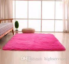 großhandel günstige flauschigen teppiche anti skid shaggy bereich teppich esszimmer home schlafzimmer teppich bodenmatte 400mm 600mm 30mm