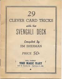sharp design on a sherms svengali deck from robert sherman s
