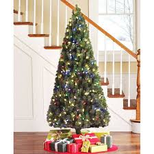 Holiday Time Pre Lit 65 LED Color Changing Artificial Christmas Tree White
