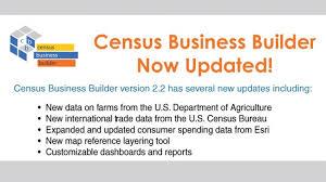bureau of the census u s census bureau updates its business builder tool here s