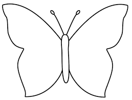 New Large Butterfly Template 68 With Additional To Print