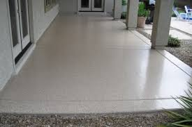 Outdoor Painted Concrete Floors Ideas On Painting Outside Exterior Epoxy Paint For Best Garage Floor Coating