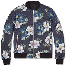 valentino floral print bomber jacket valentino cloth jacket