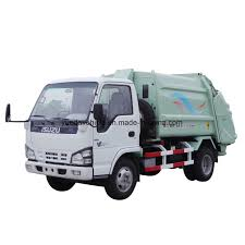 100 Rubbish Truck China Small Garbage Isuzu Chassis China Refuse Collector