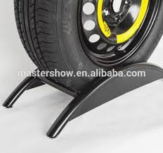 Modern Style Metal Car Wheel Display Stand Wheels Rim Rack For Store