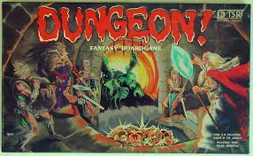 Box Art For DUNGEON Fantasy Boardgame