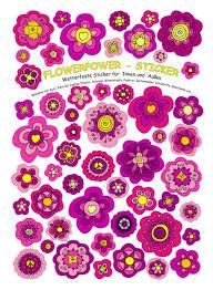 aufkleber wasserfest blumen sticker aufkleber wasserfeste sticker spülmaschinenfest brotdose fliesen türen möbel pinke blüten