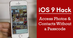 iOS 9 Hack How to Access Private s and Contacts Without a