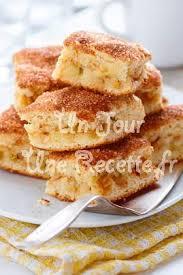 dessert a base de compote de pommes gateau aux pommes rapide et facile