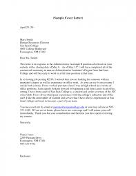 Administrative assistant cover letter sample sufficient see trend