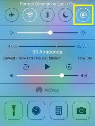 How to Lock Portrait Orientation in iOS 7 on the iPhone 5 Solve