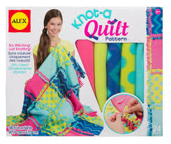 Amazon ALEX Toys Craft Knot A Quilt Pattern Kit Toys & Games