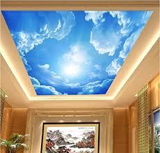 h m wallpaper pvc selbstklebende tapete 3d blauer himmel