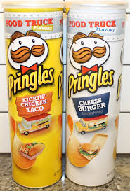Pumpkin Spice Pringles 2017 by Pringles Food Truck Kickin U0027 Chicken Taco U0026 Cheese Burger Review
