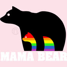 Mama And Baby Bear Silhouette At Getdrawings Com Free For Personal Rh