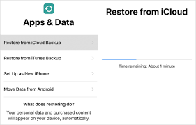 iPhone iPad Data after Factory Settings Restore