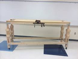 build an adjustable stand up workbench 7 steps with pictures