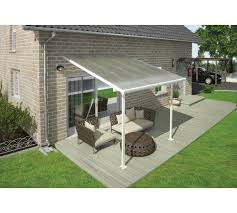 Palram Patio Cover Grey by Buy Palram Feria White Clear Patio Cover 3 X 3 05 At Argos Co Uk