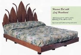 Bamboo Headboard Cal King by Island Collections Kauai Bedroom Furniture New Rattan