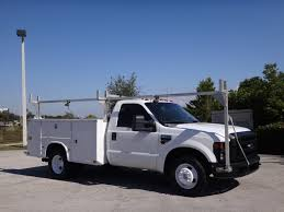 100 Utility Truck For Sale 2009 D Super Duty F350 DRW CabChassis Service