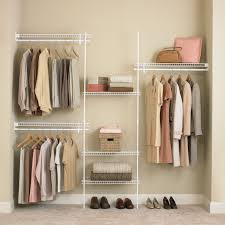 Image Of Closet Hanging Organizer Rack