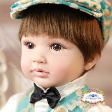 24 Realistic Reborn Blonde Princess Girl Doll Toddler Baby Dolls