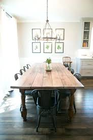 Farm Style Dining Room Table You Have To A Large Family Love These Farmhouse