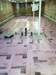 Floor Joist Jack Menards by Basement Floor Prep U2013 Stone And Insulation Two Flat Remade